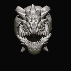 3D printing model Monster pendant Mutant v2, Kraken1983