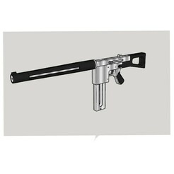 66322B46-BF81-445E-8105-04A60A0A012A.jpeg Download STL file V5 Full Storm Assault Rifle • Template to 3D print, Kraken1983