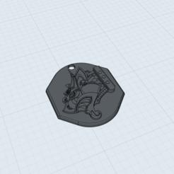 3D print model Dragon Viking Pendant, Kraken1983