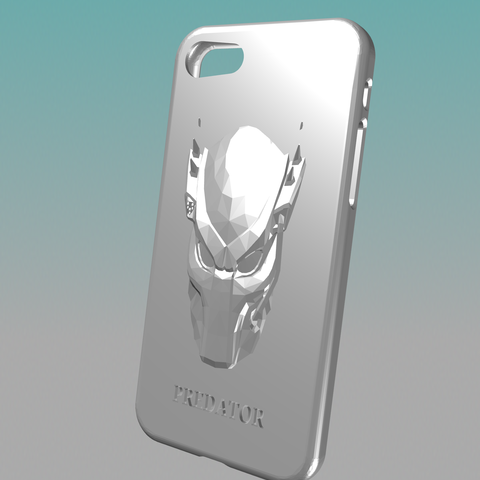 36000E86-56C6-4CAC-AFC2-ADF15683D0FF.png Download STL file Predator 6s 7s 8 IPhone Case • 3D printing design, Kraken1983