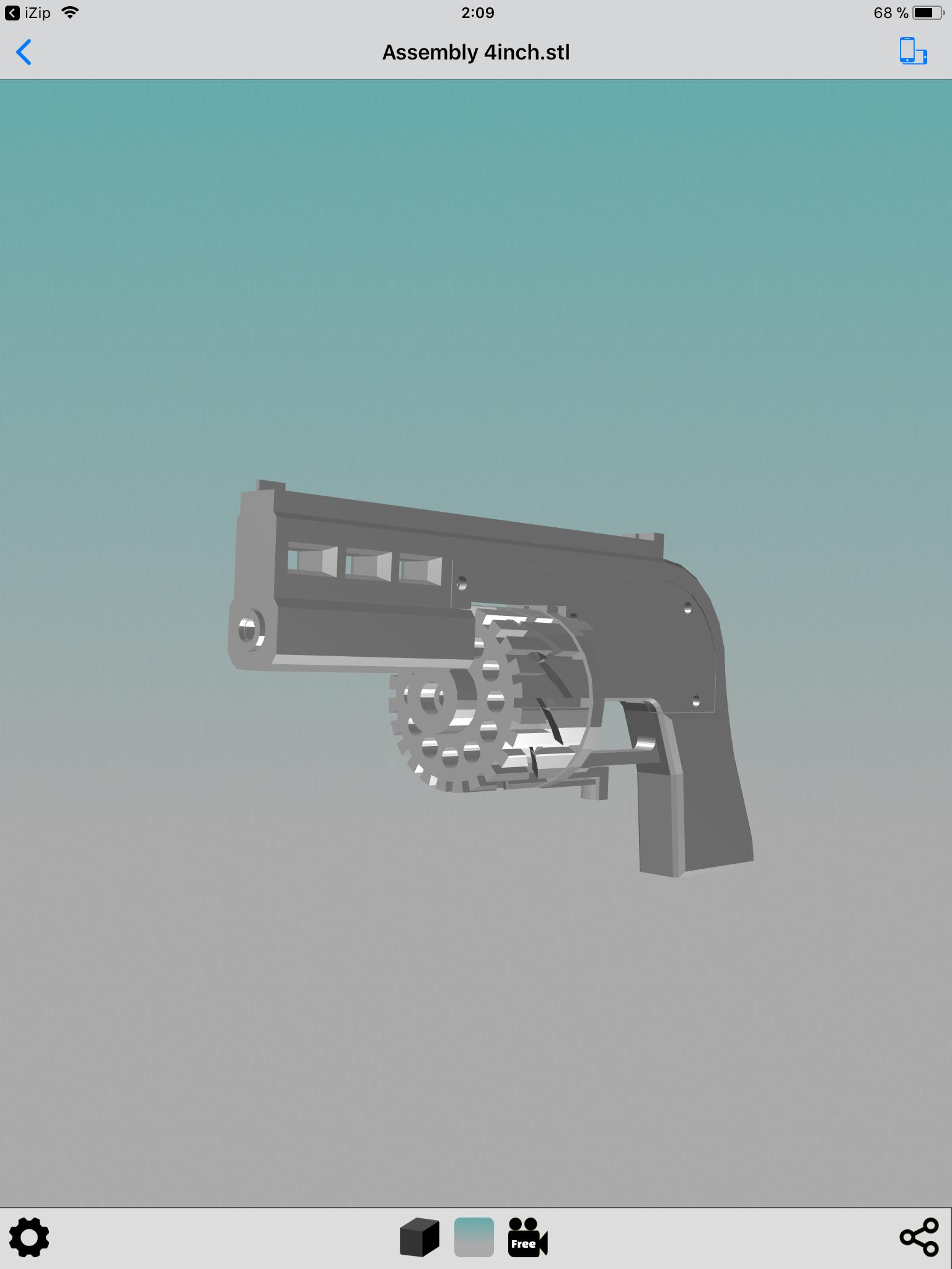 F719CBE0-FB4D-45FE-8D76-92C713E76FC8.png Download STL file Pack 2 Magnum cal.38 and 22 short and long • 3D print design, Kraken1983