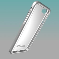 3D print files IPhone Case 6s 7s 8s Predator, Kraken1983