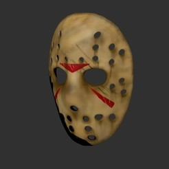 Impresiones 3D Mask jason, Kraken1983
