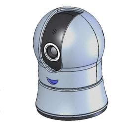 STL cámara web Solidworks gratis, Max73D