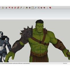 Free 3D model MARVEL_Heroes_Heroes_, Max73D