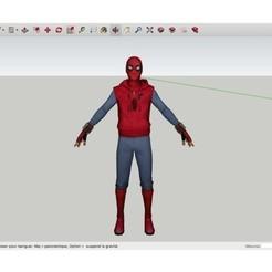 Free STL files New_Spider_Man, Max73D