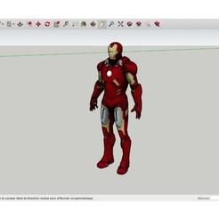 Free STL files Iron_Man_Mark_7, Max73D