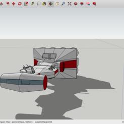 Modelos 3D gratis Corbeta de Star Wars, Max73D