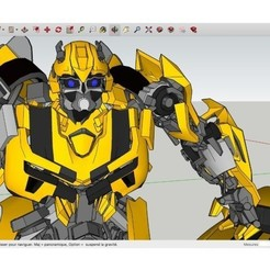 STL gratis Bumblebee_Transformador_Coche, Max73D