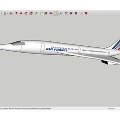Free 3D printer files Concorde_, Max73D