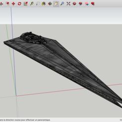 Modelos 3D para imprimir gratis Destructor de estrellas de la Guerra de las Galaxias, Max73D