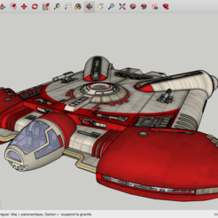 Free 3D printer files Ghtroc 720 Light Freighter - Star Wars, Max73D