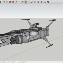 fichier 3d gratuit SpaceShip, Max73D