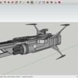 Fichier STL gratuit SpaceShip, Max73D