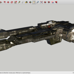 Free STL files Halo 3 UNSC Frigate Aegis Fate, Max73D