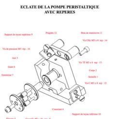 modelos 3d gratis BOMBA análisis PERISTÁLTICA, Max73D