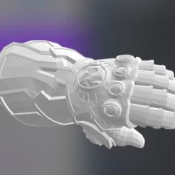 Free STL file Infinity_Gauntlet, Max73D