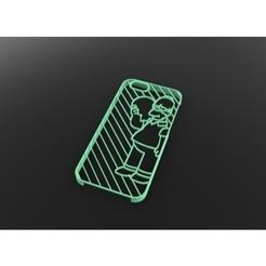 Modelos 3D para imprimir gratis iPhone 6 Caso Simpson / Caja, Max73D