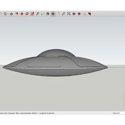 Fichier imprimante 3D gratuit Spaceship_Mars_Attack, Max73D