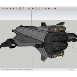 Free 3D printer designs Avenger_SpaceShip, Max73D