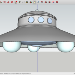 Modelos 3D para imprimir gratis OVNI Nazi, Max73D