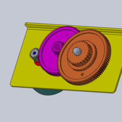 Diseños 3D gratis Diseño de la caja de cambios para estudiantes, Max73D