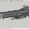 Free 3D printer designs Kitbash: Rogue Trader Battleships, Max73D