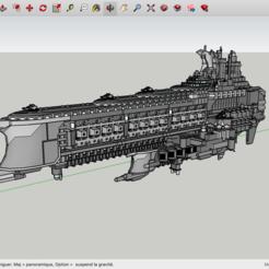 Archivos 3D gratis Kitbash: Barcos de guerra de los comerciantes sinvergüenzas, Max73D
