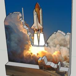 Free 3D print files Nasa Picture 3D, Max73D