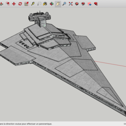 Archivos 3D gratis Harrow Destroyer Star Wars, Max73D