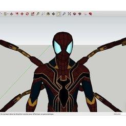 Free 3D printer designs Spider-Man_Iron_Spider_Spider_Suit, Max73D