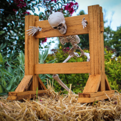 Free 3D model Mini Pillory (Stocks), mtairymd