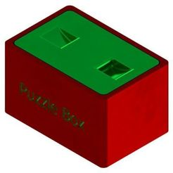 Download free 3D model Nail Puzzle Box - 3D Print, mtairymd