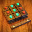 Download free 3D printing templates Tic Tac Toe Board Game, mtairymd