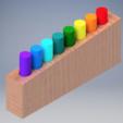 Free Pin Puzzle STL file, mtairymd