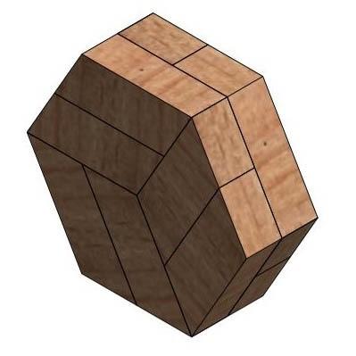2.jpg Télécharger fichier STL gratuit Puzzle hexagonal • Modèle pour imprimante 3D, mtairymd