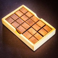 STL file Chocolate Bar Puzzle, mtairymd