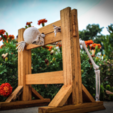 Free Mini Pillory (Stocks) 3D model, mtairymd