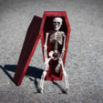 Free 3d printer model Mini Coffin, mtairymd