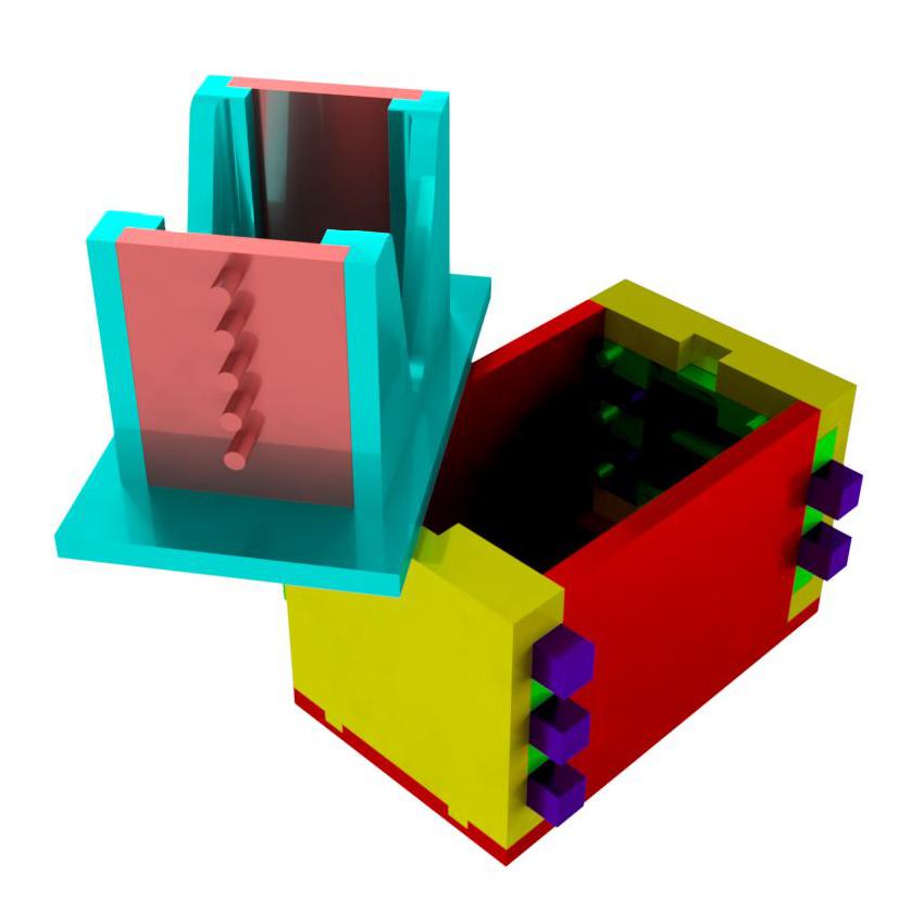 Combined_Opened.jpg Télécharger fichier STL gratuit Boîte de casse-tête combinée • Modèle à imprimer en 3D, mtairymd