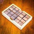 IMG_8217.jpg Download STL file Chocolate Bar Puzzle • 3D print design, mtairymd