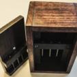 Free STL Nail Puzzle Box, mtairymd