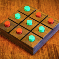 Free 3D printer model Tic Tac Toe Board Game, mtairymd