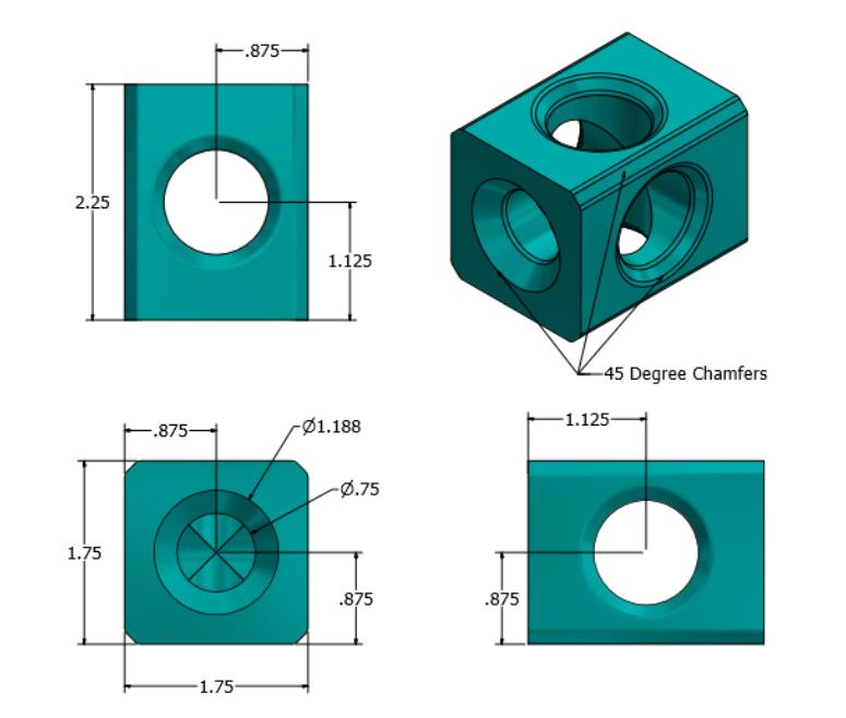 2.PNG Télécharger fichier STL Supports d'installations d'air • Design à imprimer en 3D, mtairymd