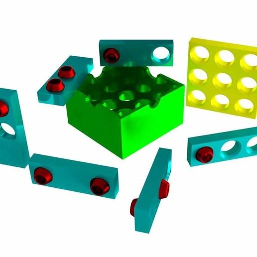Télécharger fichier STL gratuit Casse-tête du trou du spermophile • Plan imprimable en 3D, mtairymd