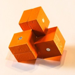Download free STL file Three Cubes Puzzle • 3D printer object, mtairymd