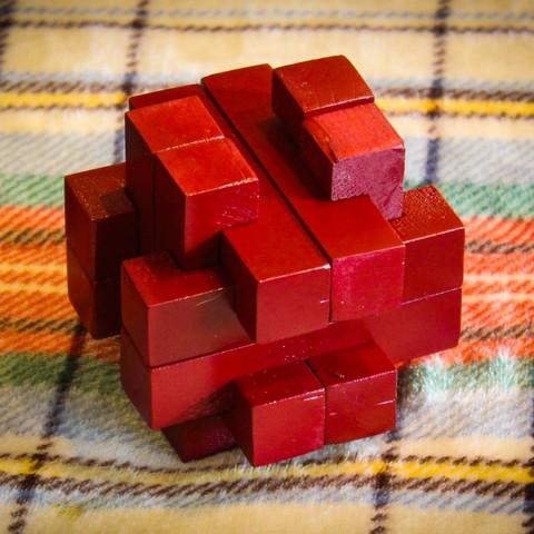 STL gratis Burr Puzzle, mtairymd