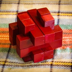 Objeto 3D Burr Puzzle gratis, mtairymd