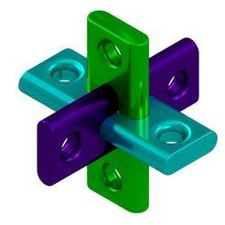 Download free 3D printer designs Locking Puzzle, mtairymd