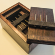 Free 3d printer designs Nail Puzzle Box, mtairymd